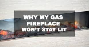 gas fireplace wont stay lit superior gas fireplace pilot wont stay lit