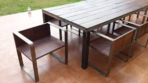 iron and wood patio furniture. Metal And Wood Outdoor Furniture. Furniture N Iron Patio A