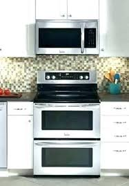 above oven microwave. Over The Oven Microwave Range Small Ovens . Above