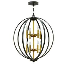 hinkley lighting euclid series 3468cg pendant chandelier hnk 3468