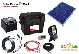 diy solar power floodlight kit