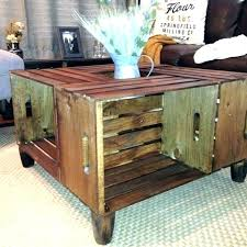 side tables wooden crate bedside table milk coffee large size of home depot end wood