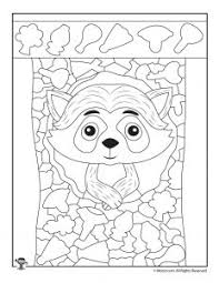 Hidden picture puzzle by liz ball. Easy Hidden Pictures With Animals Printable Activity Pages Woo Jr Kids Activities