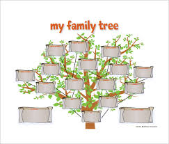 Family Tree Example Template Family Tree Diagram Template 9 Free Sample Example