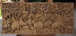 teak wood wall decor  on bali wood carving wall art with teak wood wall decor kemist orbitalshow