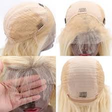 Color#613 blonde bob wig silky blunt cut straight – Luvin Hair