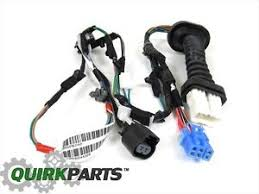 dodge ram 1500 2500 rear door wiring harness right or left side oem dodge ram wiring harness connectors image is loading dodge ram 1500 2500 rear door wiring harness