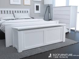 Modern Bedroom Furniture Melbourne Dandenong Blanket Box Storage Box White B2c Furniture
