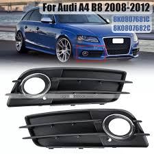 2006 Audi A4 Fog Light Grill 1pcs Front Bumper Fog Light Grille Grill Left Right For Audi