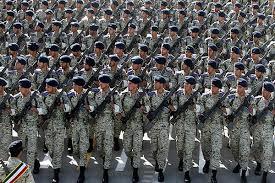 Image result for با حضور رئیسجمهور و فرماندهان نظامی انجام شد رژه اقتدار ارتش ولایی جمهوری اسلامی