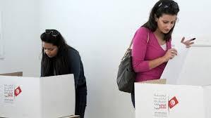 تونس - التونسيون يدلون بأصواتهم