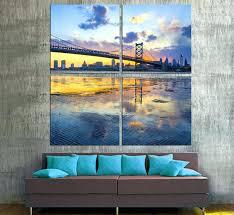 philadelphia skyline wall decal skyline bridge canvas print 4 zoom wall  decals . philadelphia skyline wall decal ...