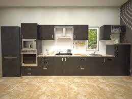 One Wall Kitchen Layout Aamoda Kitchen Straight Modular Kitchen Miserv
