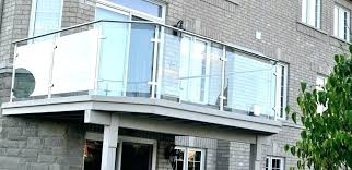 stair railing cost per linear foot glass deck railing systems home depot home depot railings home