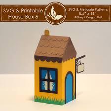 Svg Printable House Box 6