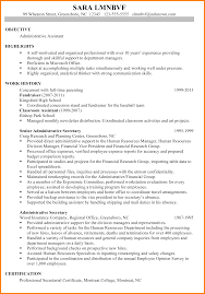 8 chronological resume example letter adress