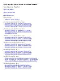 Tosnowps[1] Copy   Belt (Mechanical)   Manual Transmission