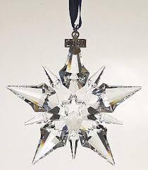 Swarovski 2001 Annual Christmas Snowflake Ornament Z