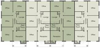 office space plan. FloorPlanA Office Space Plan N