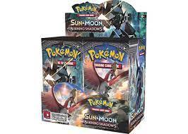 2020 Pokemon Sun & Moon Burning Shadows Booster Box - 2020