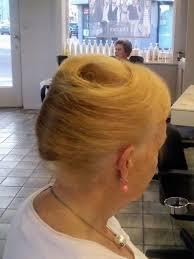 Opsteekkapsel Dames 60 Chignon Banane Classique Lang Haar