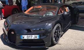 A motorsports gathering, including a start u. Video Exposed Carbon Fiber Bugatti Chiron Spotted In Monaco The Supercar Blog