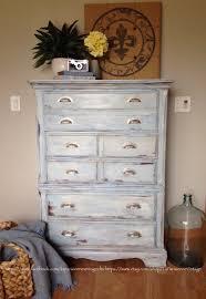 Tall dresser, painted highboy, nautical theme nursery, coastal ...