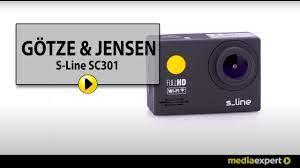 Kamera sportowa GÖTZE & JENSEN S-Line SC501 - YouTube