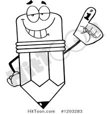 foam finger clipart. preview larger clipart foam finger