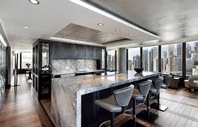 a marble island will give the room a sleek look image via abruzzo kitchen