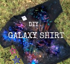 tie dyed galaxy t shirt