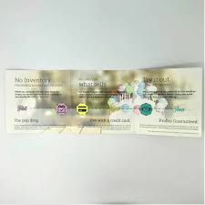 Square Trifold Brochures