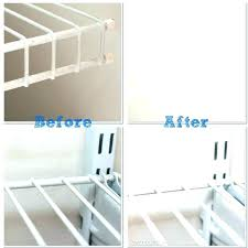 wire closet shelving install rubbermaid fasttrack installation