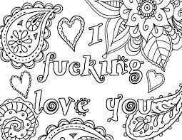Coloring Pages Swear Words Printable Coloring Pages With Words Swear