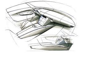 car interior sketch. Contemporary Car Mercedes Benz SLS AMG Interior Design Sketch 5 Supercar Sketches Intended Car R