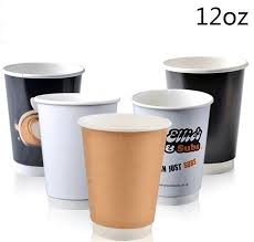 12oz pla double wall paper coffee cups whole