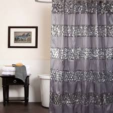 curtain stunning tar shower curtains for your bathroom decor concept of navy blue and gray shower