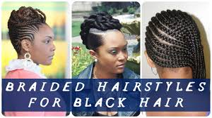 Plaiting Hair Style 35 best braided hairstyles for black hair youtube 4715 by wearticles.com