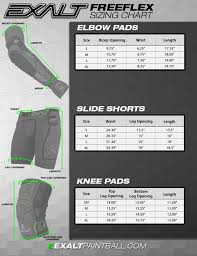 Mizuno Knee Pad Size Chart 20 Knee Pad Size Chart Pictures And Ideas On Weric