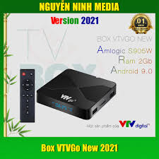 Android Tivi Box VTVgo 2021 Truyền Hình VTVgo phù hợp mang đi nước ngoài , Android  9 Chip amlogic S905W Ram 2GB - Hàng C tại Hà Nội