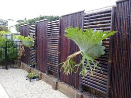 Diy Fence Diy Bamboo Fence Design And Ideas Of House