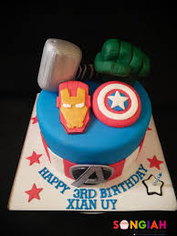 32 Wonderful Image Of Avengers Birthday Cake Birijuscom