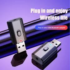 5.0 Bluetooth Adapter USB Wireless <b>T7 5</b> Bluetooth Transmitter ...