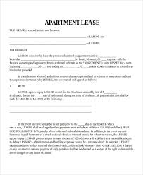 Template Lease Property Lease Template 4 Free Word Pdf Document