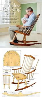 wood furniture blueprints. rocking chair plans furniture and projects woodarchivistcom wood blueprints o