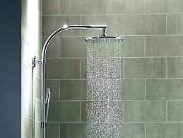 shower system brushed nickel callas thermostatic shower system brushed nickel