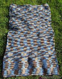 a crocheted wool area rug before felting how to make a felted wool rug