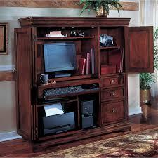 armoire office desk. darkhardwoodflooringwithbrownwoodcomputerarmoire armoire office desk k