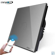 <b>CNSKOU EU</b>/<b>UK</b> Smart Wireless Remote Light Switch 1 Gang 1 ...