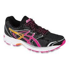 asics gel equation 8 women s running shoes 1149126 black hot pink orange